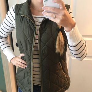 Old Navy Jackets & Coats - Army green vest